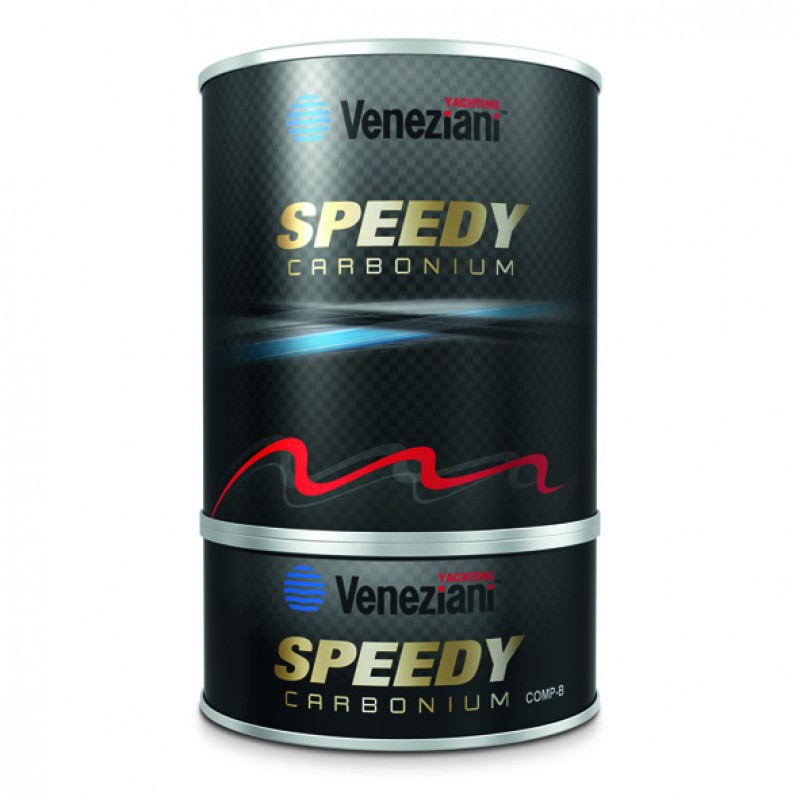 Antifouling Veneziani Speedy Carbonium color Gris, 0.75 lt