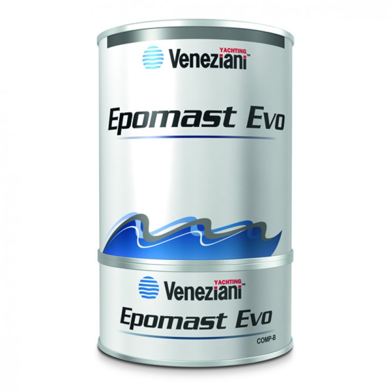 Epoxy Filler Veneziani Epomast Evo 2 Components ( A+ B) 1.5kg