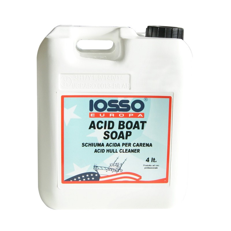 Cleaner and Polish of fiber Boat Soap IOSSO 4lt