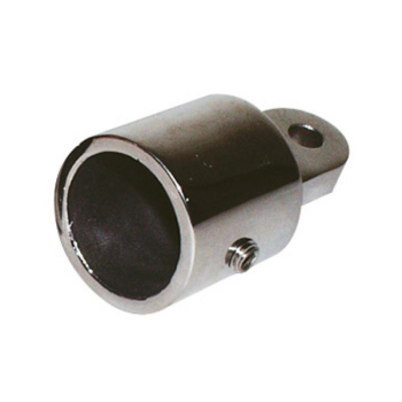 Terminal de acero inoxidable Bimini tubo 22mm