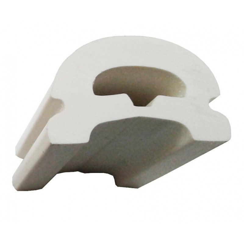 White nautical contour strip C40
