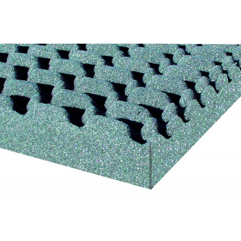 Plancha de Insonorización Alveolar 40 mm, 1000x2000 mm