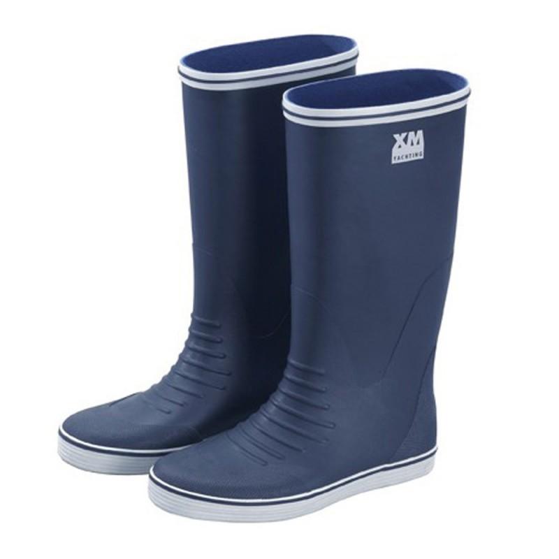 Botas de Goma Azul XM YACHTING suela antideslizante nº 39