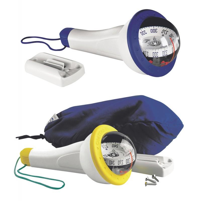 Yellow Iris 100 compass with light