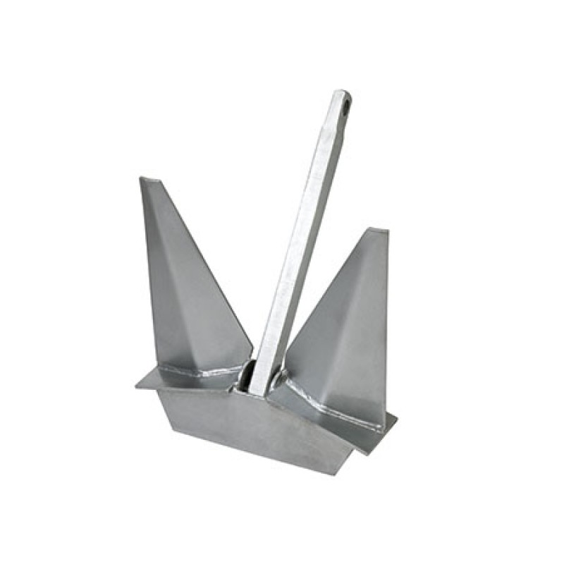 "Galvanized Steel ""Pool HHP"" (High Holding Power) anchor 80kg"