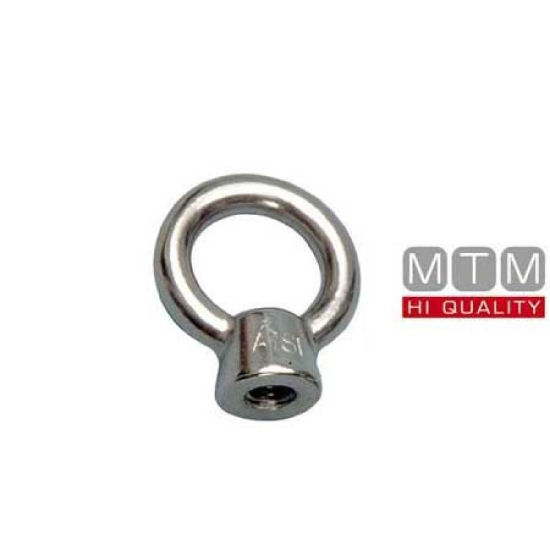 Stainless Steel female lifting eye nuts M16