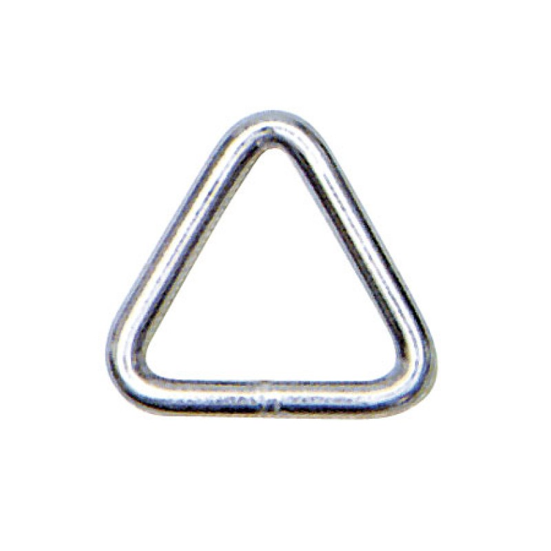 Inox Triangular Ring 8 x 50mm