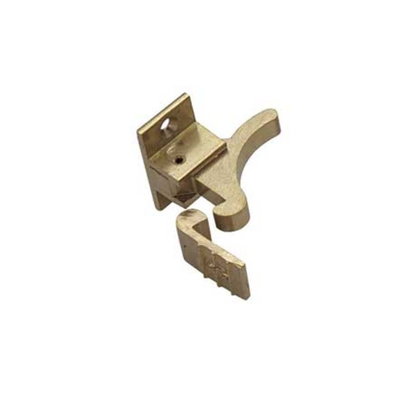 Bronze elbow latch for doors and cabinets