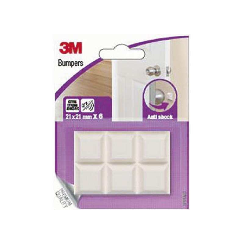 3M Bumpon self-adhesive Polyurethane bumpers 21x21mm 6pz