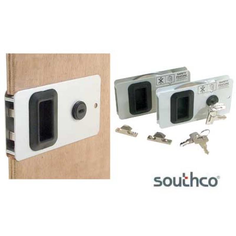 anodized mobella flush entry doorlock