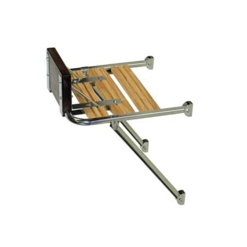 Plataformas de popa de acero inoxidable 520 x 490 mm
