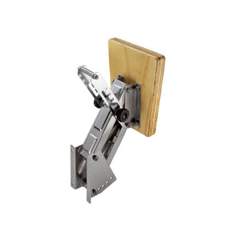 Soporte Fuerabordas Inox - madera ajustable hasta 35kg