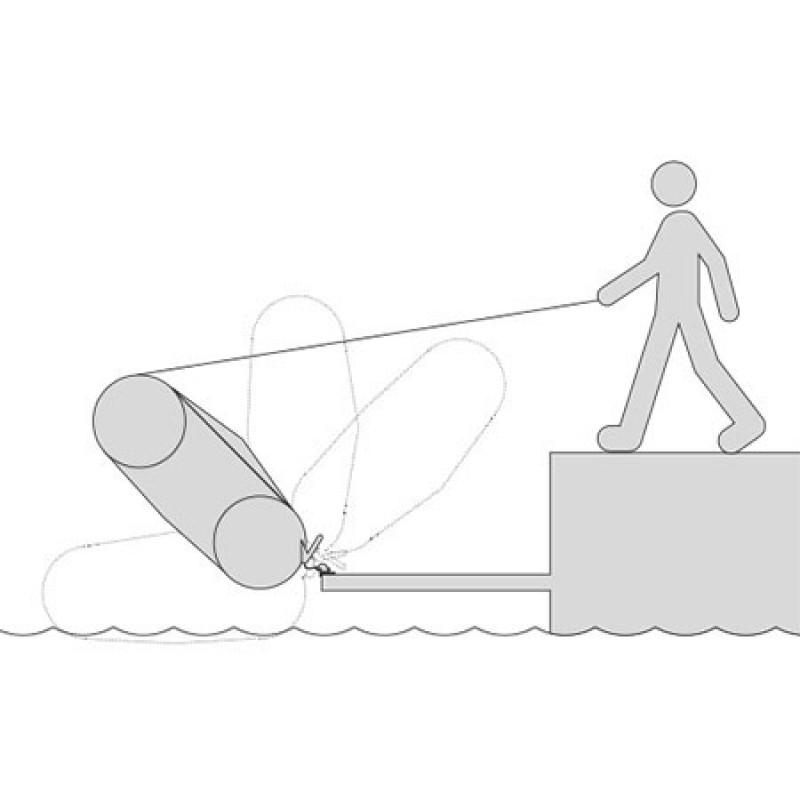 Sistema de Anclaje y Elevacion Embarcaciones Neumaticas