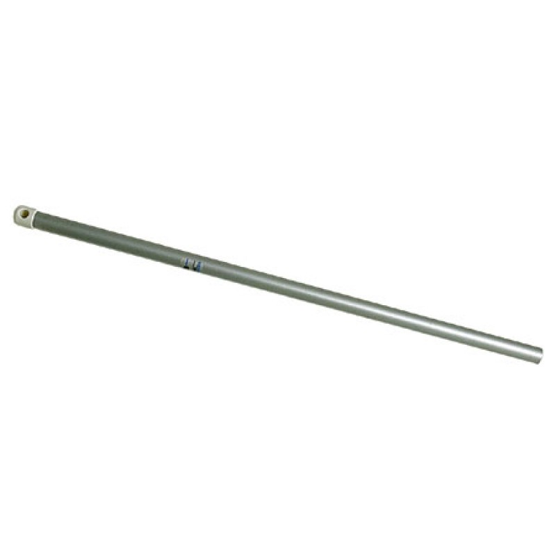 Anodized Aluminium stanchion for gangways D25 x 70mm
