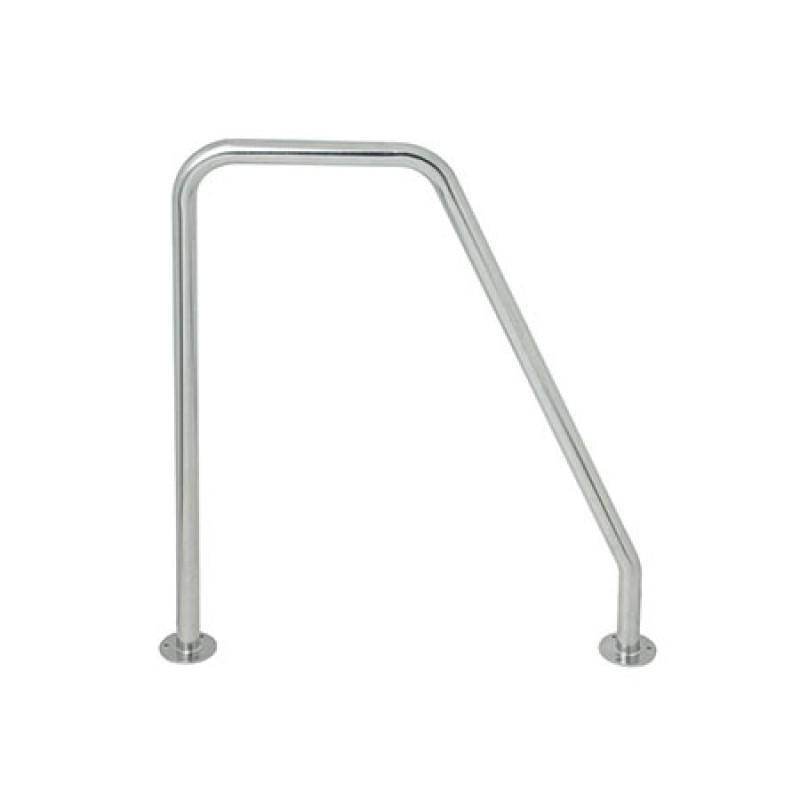 Bow or stern mount Stainless Steel high Stanchion holder 25 x 585 x 480mm