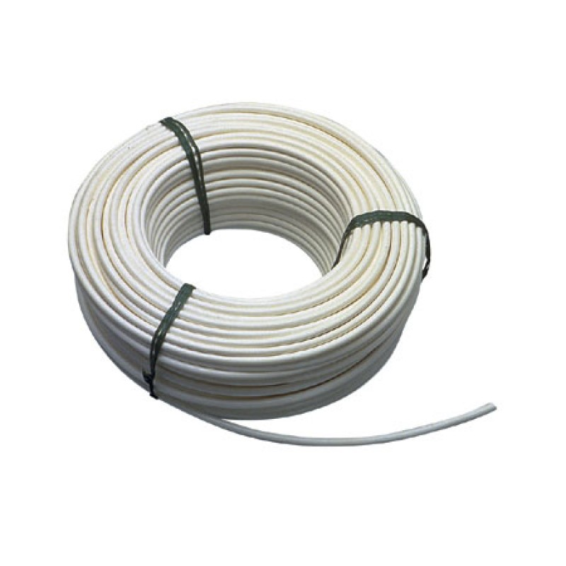 Cable de acero inoxidable forrado pvc de 6 mm-20 mt