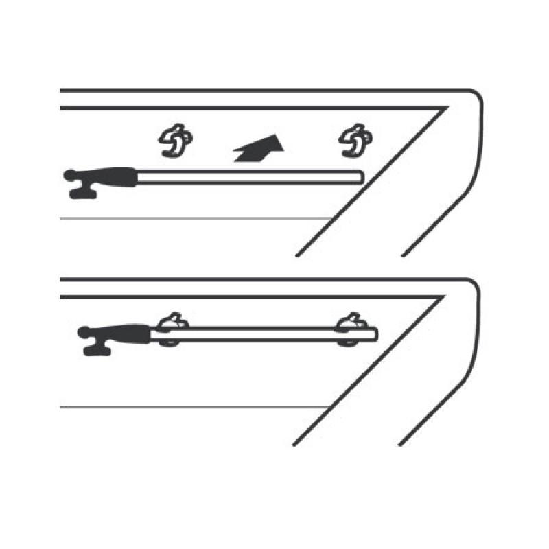 Clips Compactos Blancos 17/23