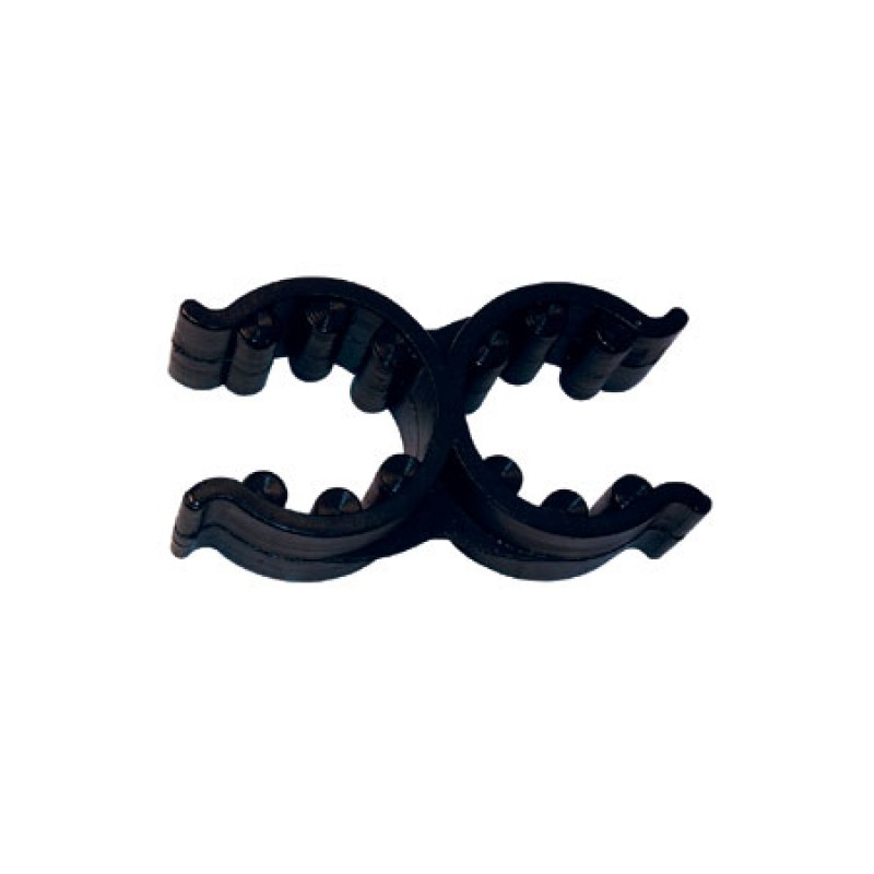 Clips dobles negros 18/25mm para escaleras plegables