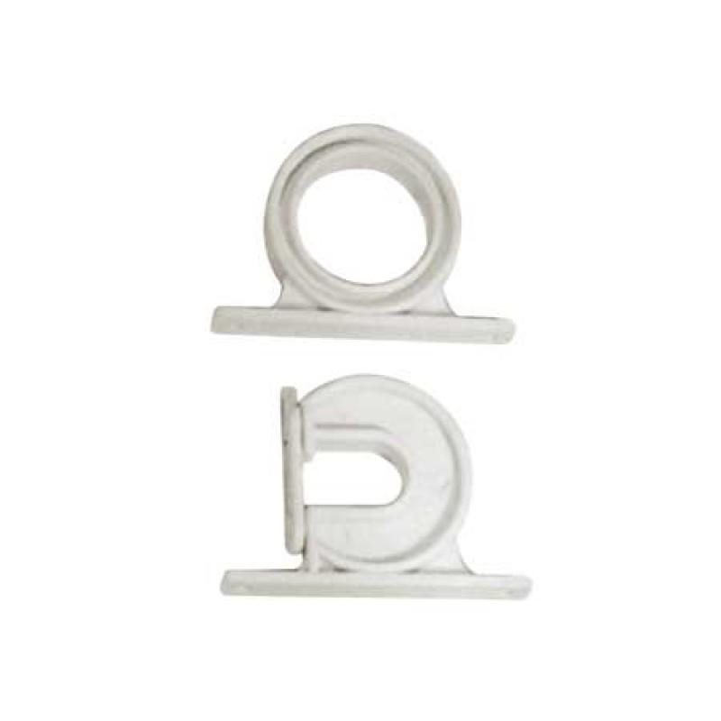 Soporte Plástico Blanco para Estiba de Cañas