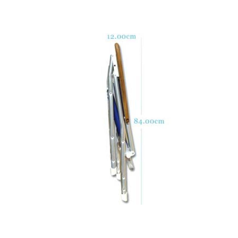 Silla plegable de cubierta FORMA M100 NAVY