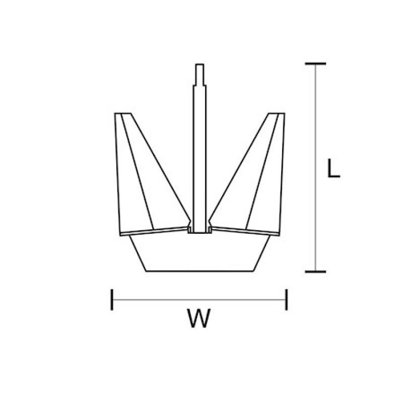60 Kg Pool Anchor