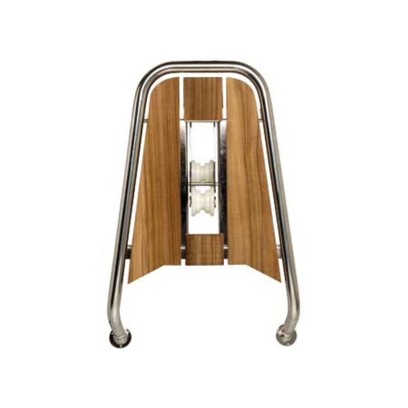 Bow Platform Inox and Teka 75X48 CM with Integrated Mounting Roller