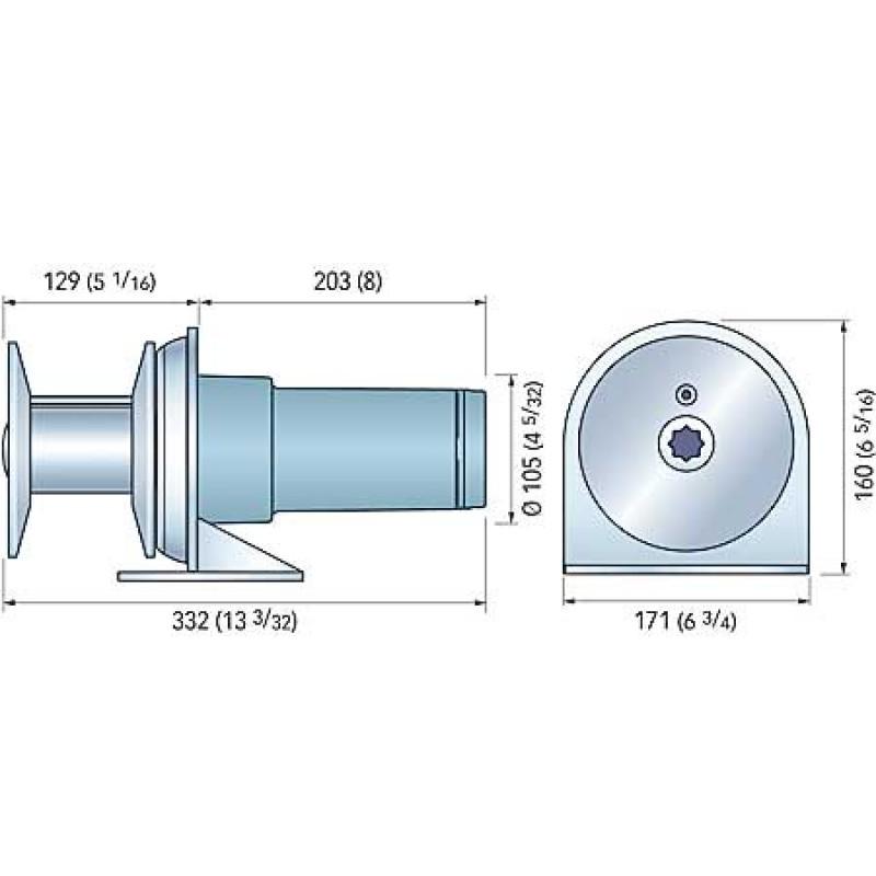 TOTEM G 1000 12V Anchor Windlass