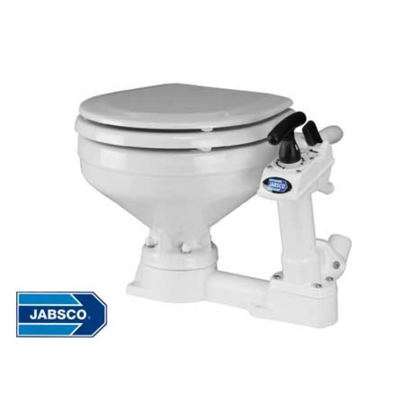Jabsco compact manual Base toilet