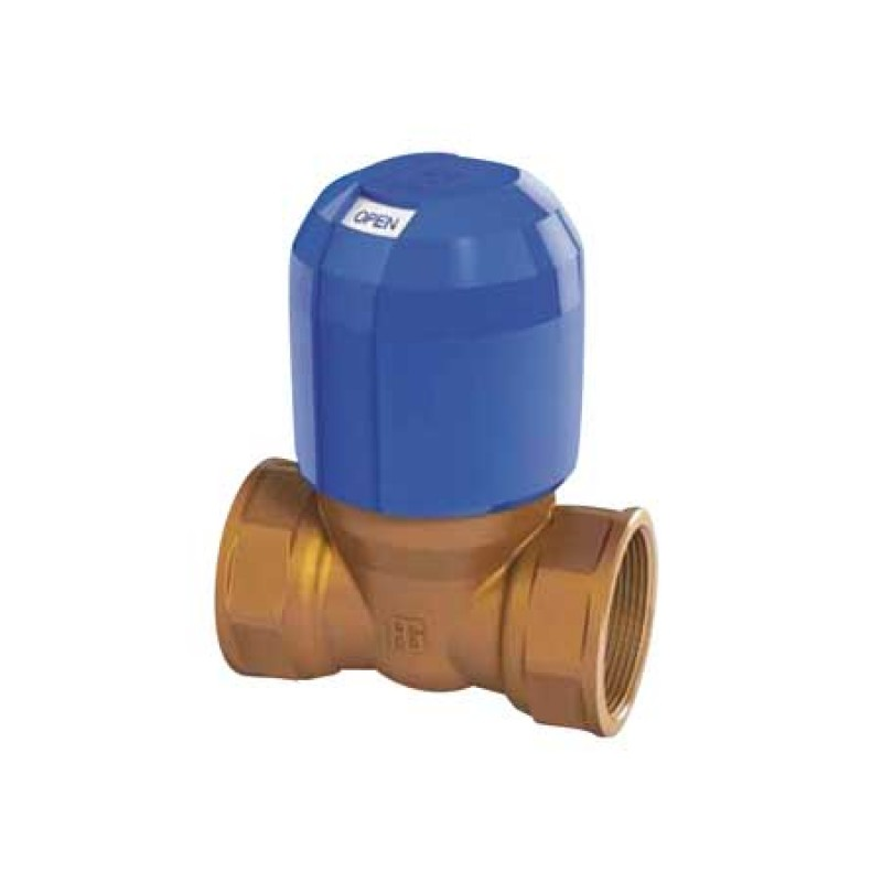 Full flow non-block Bronze valve 1""