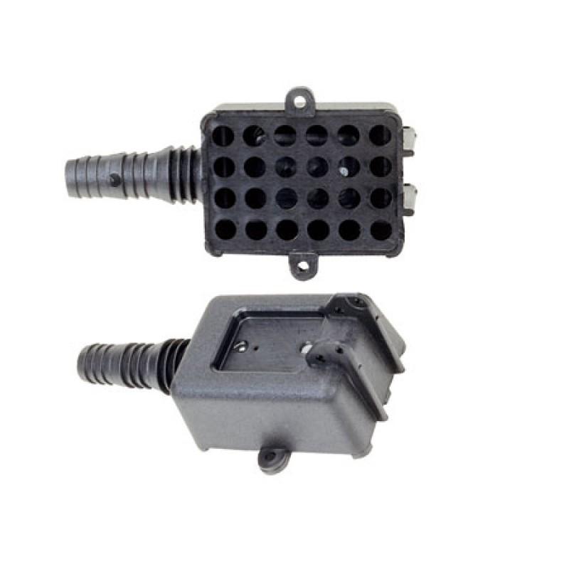 Filtro de plástico sentina 145 x 60 x H38 mm para tubos ø 18/20/24 mm