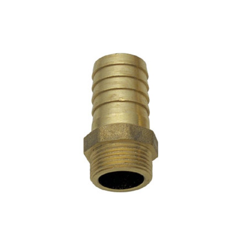 brass male hose connector 1 `` 1/4 x 40 mm