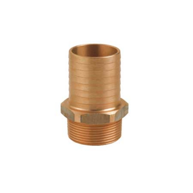 bronze male pipe-to-hose 1 1/2x45mm