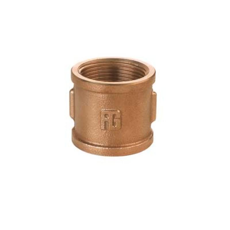 "Racor de bronce Niple Hembra-Hembra 1"""