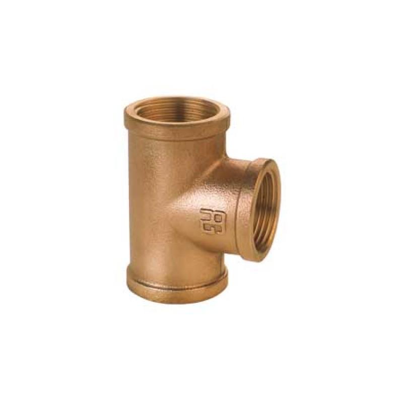 """Tee de bronce 3/4"""""""