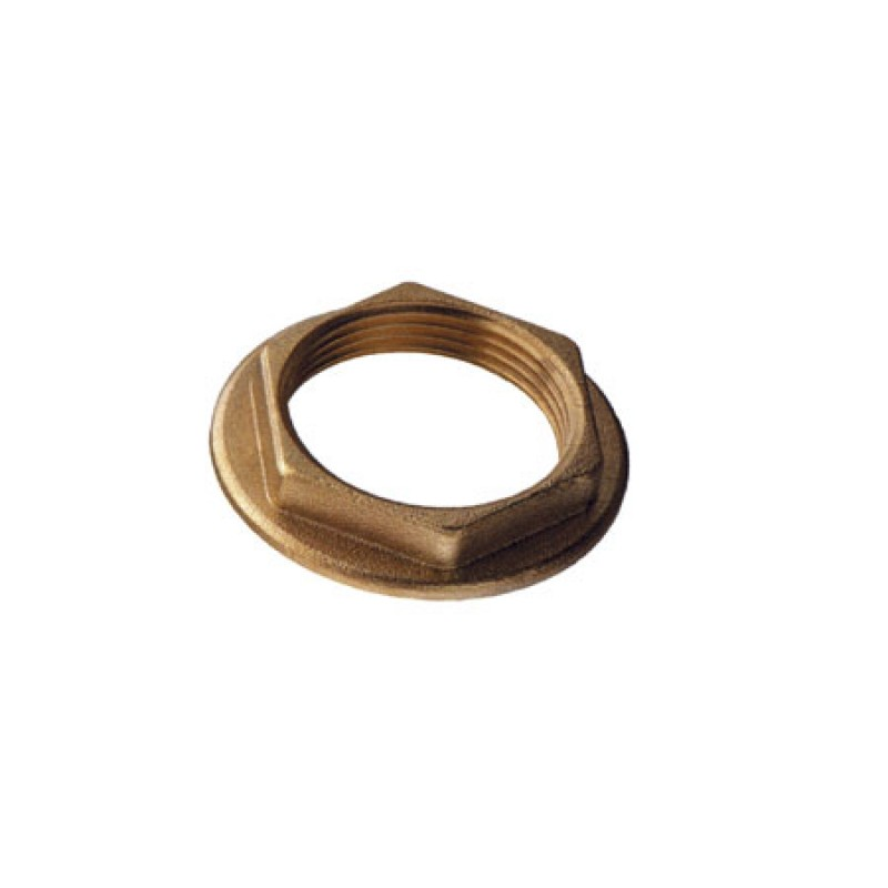 brass flanged pipe nuts 2