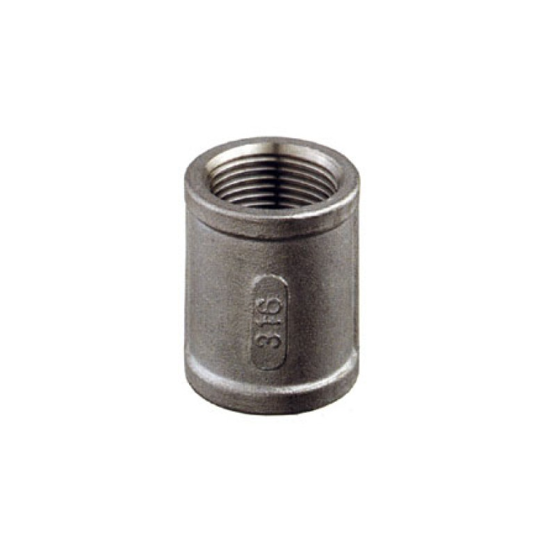 Stainless Steel threaded pipe coupling G Thread 2