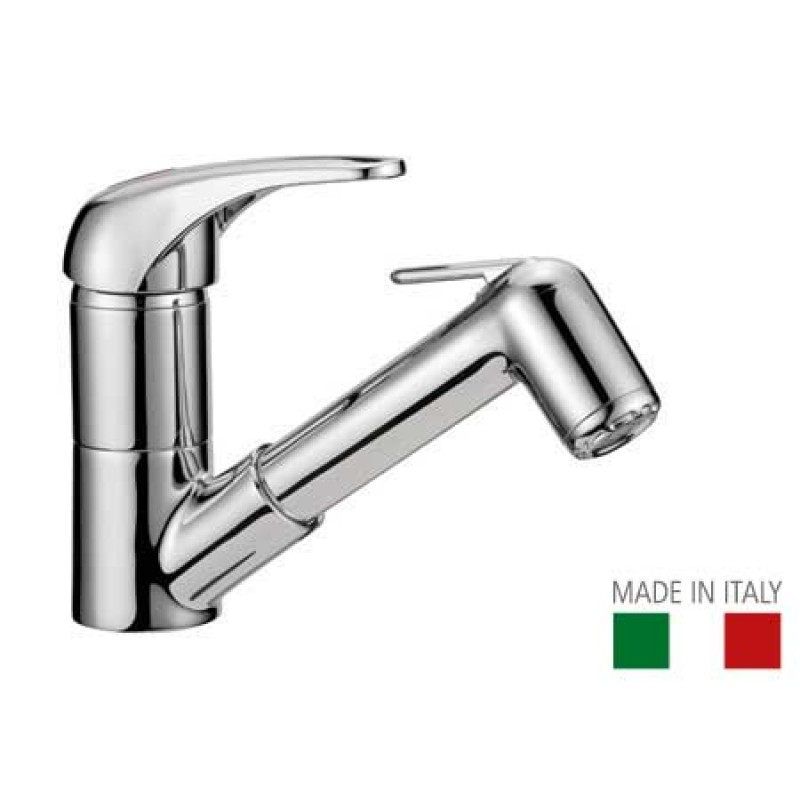 Mixer tap with shower 150