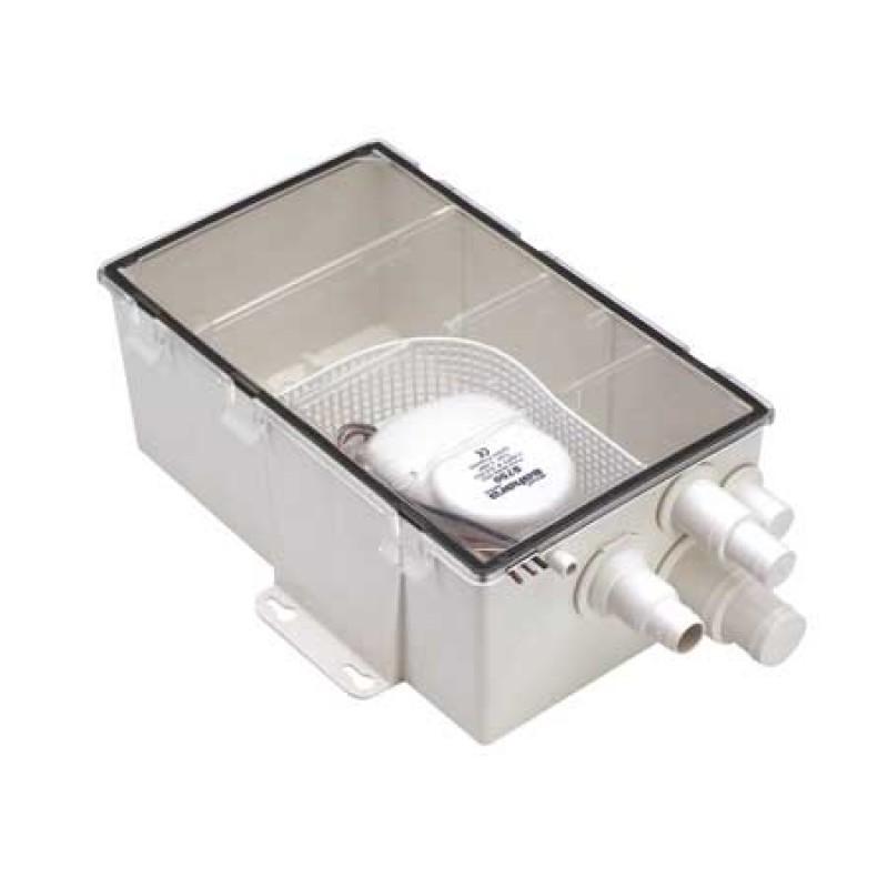 Caja Desagüe Ducha y Aguas grises Attwood T500 12V