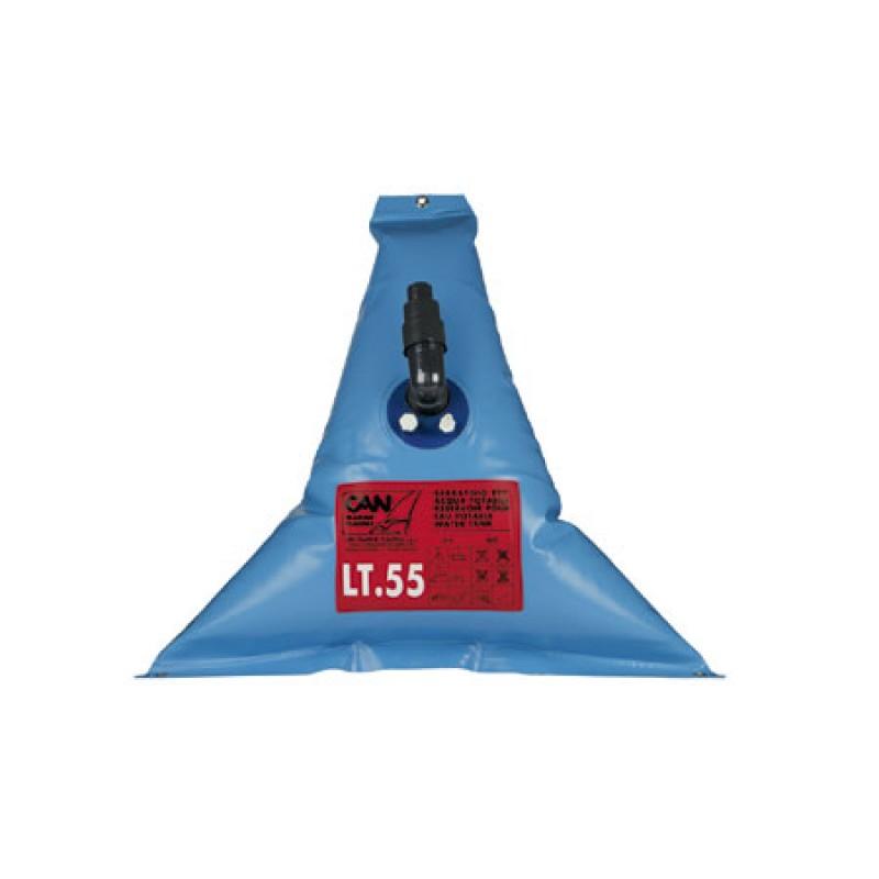 Tanque Flexible Triangular Agua 55l