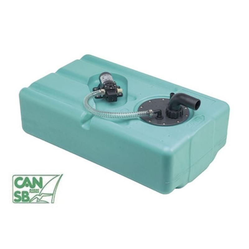Depósito de agua Can 60lt H28cm