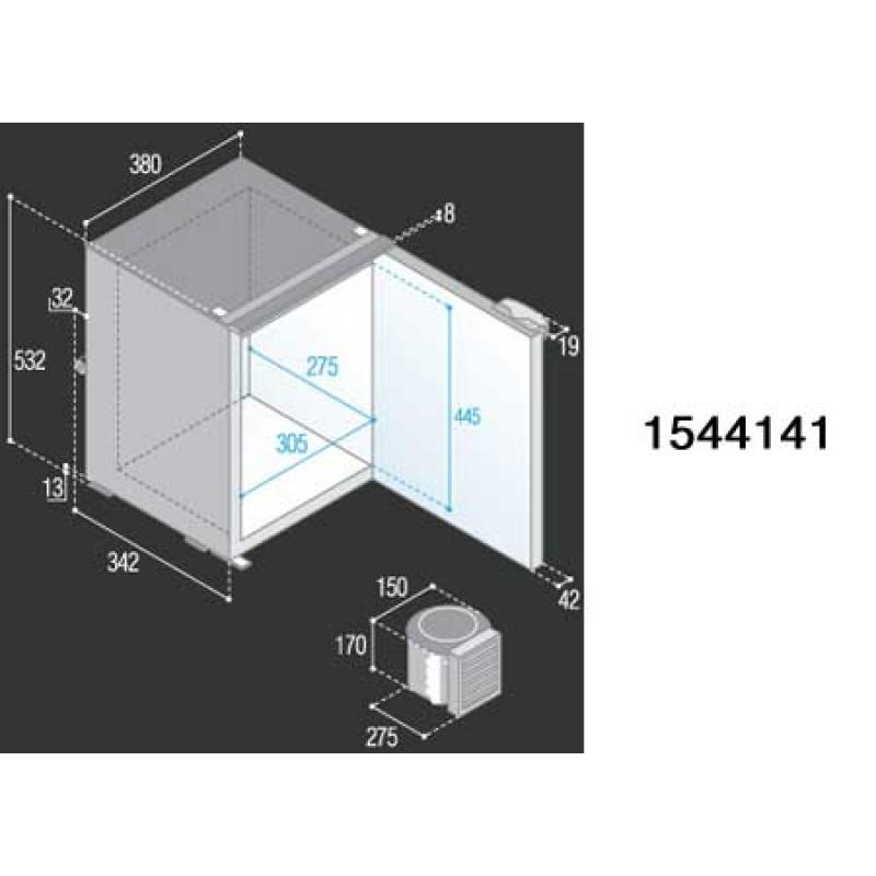 Refrigerator Vitrifrigo VF130