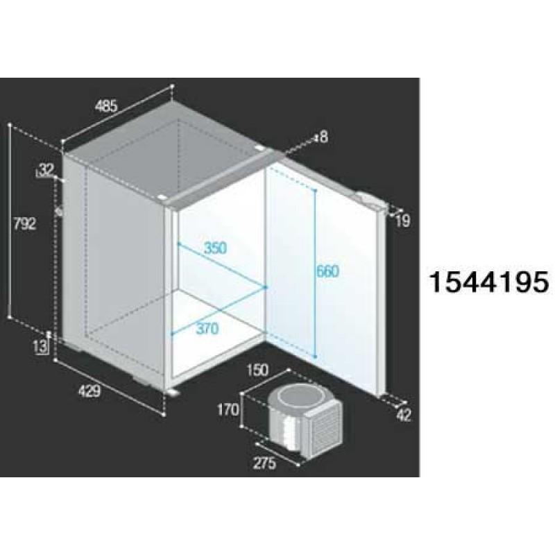 Refrigerator Vitifrigo VF130