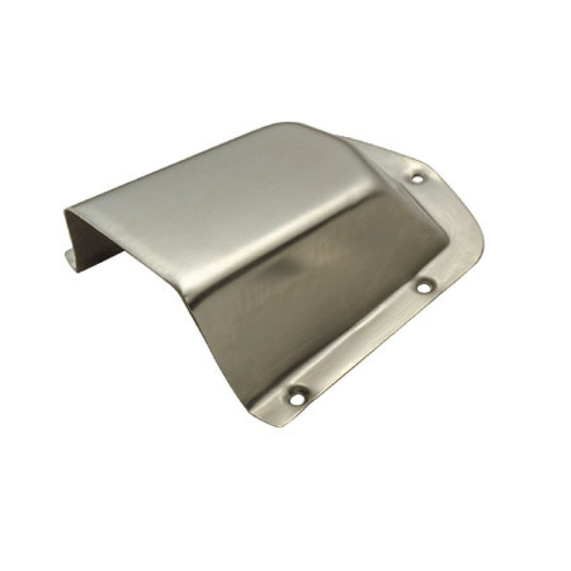 130 x 120mm stainless air intake