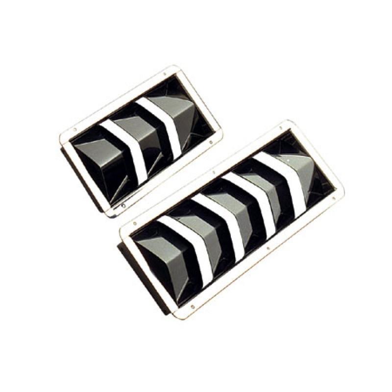 Rejillas de Aireacion Empotrables Inox 210 x 110