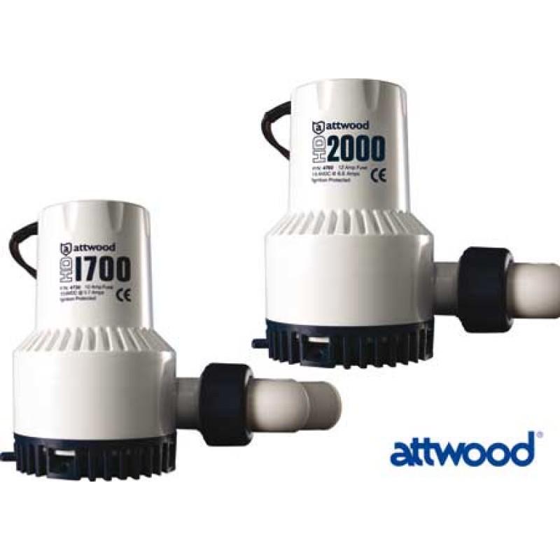 Attwood hd bilge pump Hd1700 12v pump