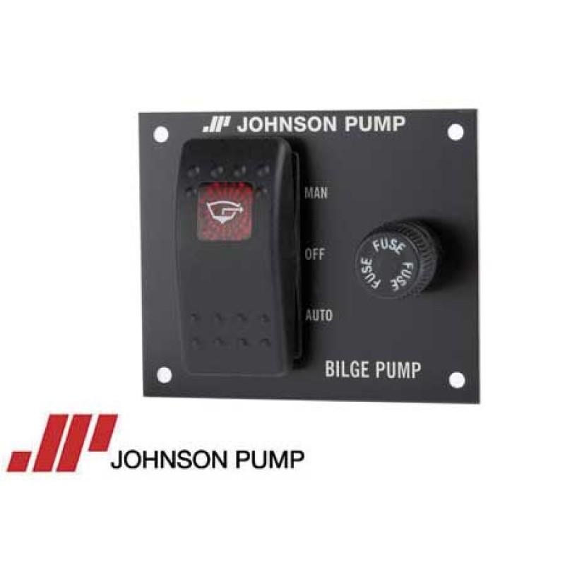 Panel Interruptores Bomba de Achique Johnson 24v