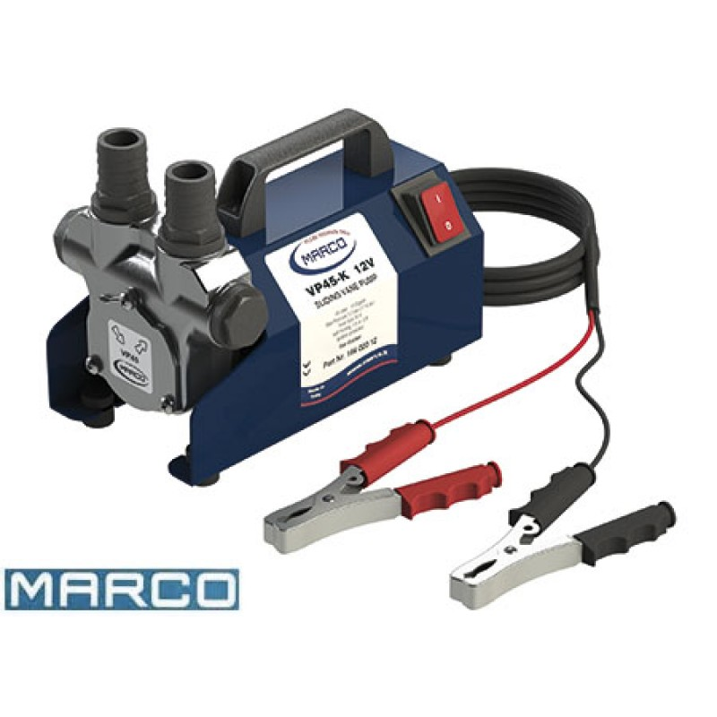 Marco vp45 diesel transfer pump 45 litre 24v Portable