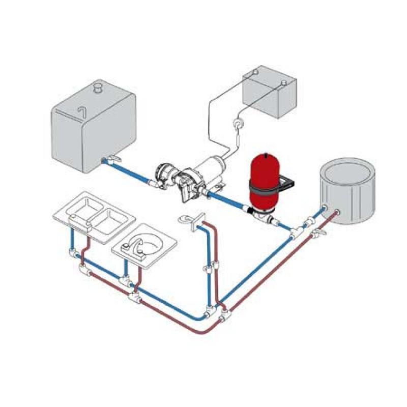 Aqua Jet 2.9 Johnson 2.9 pump 11 l/m 12v