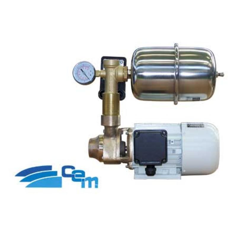 Sistema de presión de agua dulce marino CEM PB2X 24v 35lt / minuto