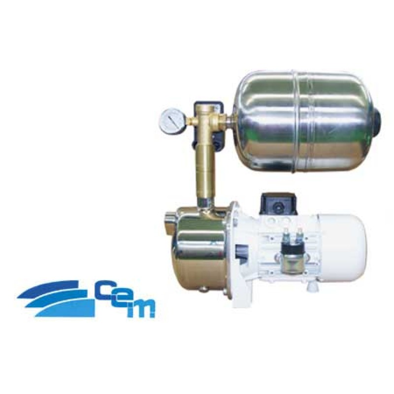 CEM J-stainless steel pump / 8 x 50 l / m 12v